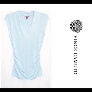 B2-0811 Vince Camuto Top Blue Size S